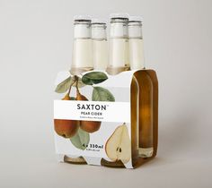 prettiest pear cider ever - by Saxton