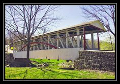 Dr. Knisely covered bridge Bedford County Pennsylvania