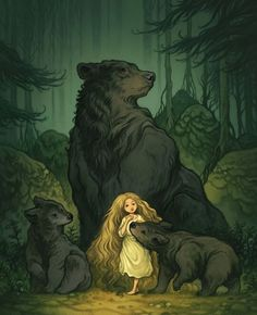 Cory Godbey creates fanciful illustrations for picture books, comics, and animation. Art And Illustration, Food Illustrations, Art Bizarre, Fairytale Art, Fairytale Drawings, Animation, Bear Art, Art Inspo, Amazing Art