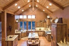 This may be too much Barnwood for most people's taste, but the commitment to rustic decor deserves a standing ovation!