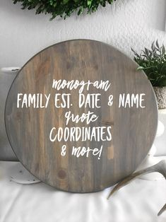 Ottoman Tray, Serving Tray Wood, Round Tray, Rustic Wood Signs, Solid Pine, Custom Wood, Safe Food, Ideas, Thoughts
