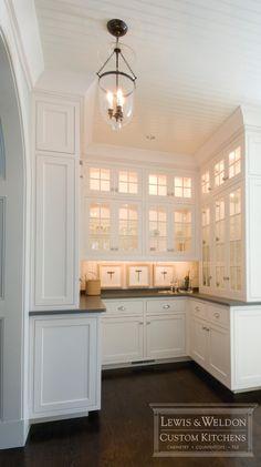 open butler's pantry concept
