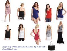 Ruffle It Up - White House Black Market up to 25% off - CentsibleDeals.com
