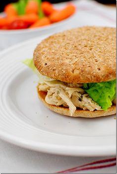 30 Minute Chicken Caesar Sandwich