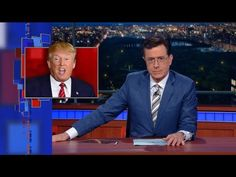 """Late Show with Stephen Colbert: Side Effects Of Being Presidential Include Drowsiness, Sexism """"The Woman Card"""" pfft"""