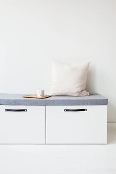 Subtle design for clever brands & interiors Ikea Storage, Storage Cabinets, Storage Shelves, Storage Ideas, Shelving, Childrens Room, Ikea Bank, Informal Dining Rooms, Interior And Exterior