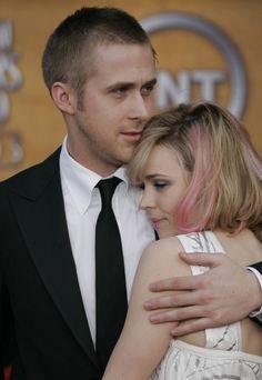 Ryan Gosling and Rachel McAdams: they made a cute couple :(