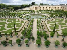 After 300 years, a new contemporary garden for Chateau de Versailles in 2015.