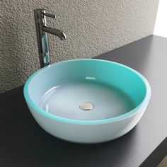 Shop Cantrio Koncepts Glass Vessel Sink at Lowe's Canada. Find our  selection of vessel sinks at the lowest price guaranteed with price match +  off.