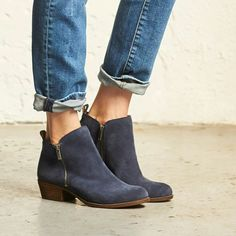 Jeans and booties
