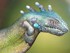 kandeej.com: 17 of The Most Awesome Paintings on Hands You've Ever Seen