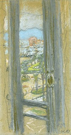 EDOUARD VUILLARD 1868 - 1940 La Fenetre A Cannes