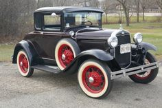 Used 1931 Ford Model A -5 WINDOW COUPE WITH RUMBLE SEAT- SEE VIDEO | Mundelein, IL