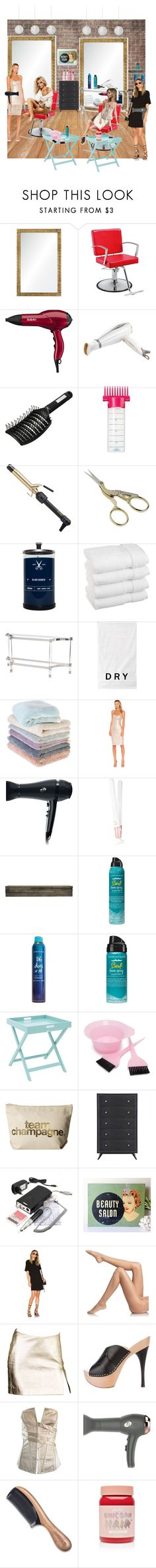 """""""Hair salon"""" by vegas777 ❤ liked on Polyvore featuring beauty, Barclay Butera, BaByliss, Nicky Clarke, Hot Tools, HAY, Blind Barber, Bernhardt, DKNY and Sefte"""