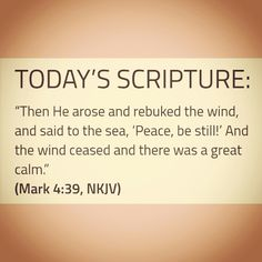 Today's Scripture, Scripture For Today, Calm, Peace, Sayings, Decor, Decoration, Lyrics, Decorating