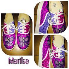 Zapatos decorados en ZIA