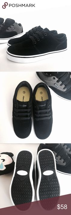 Maui and Sons lace up Maui and Sons lace up van looking sneakers. All Black combo. Rubber bottom authentic suede/leather top. Listed as UA for Exposure buyer aware these are new M&S Please visit I have many boy shoes NEW Under Armour Shoes Sneakers