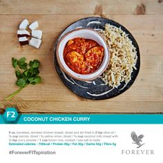 Our Coconut Chicken Curry #recipe is so simple to prepare - you'll want to cook it every night