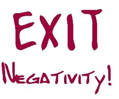 The Way To Defeat Depression By Exiting Negativity beating negativity, getting rid of negativity