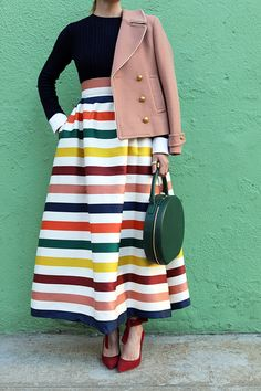 Atlantic Pacific Blog // Crazy Stripes! Click through to see the full post
