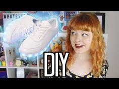 DIY Light Up Shoes | Make Thrift Buy #25 - YouTube