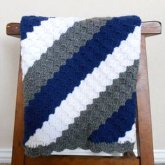 crochet baby boy blanket patterns - Google Search More