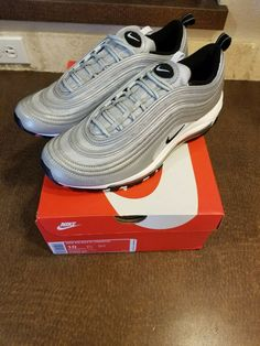 separation shoes d9dbd 3a461 (eBay Sponsored) Nike Air Max 97 Premium Reflective Silver Bullet 3m  312834-007