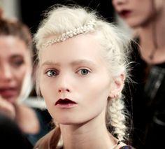 Braids at John Rocha Fall/Winter 2011 #hair #braid