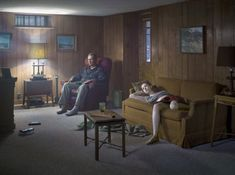 The Basement, Cathedral of the Pines Series by Gregory Crewdson 2014