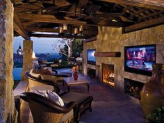 OK. I really could do this on my back porch if I only had the $$