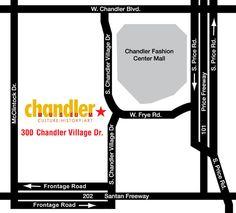 Visit the Chandler Museum at 300 S. Chandler Village Drive, Chandler, Arizona.