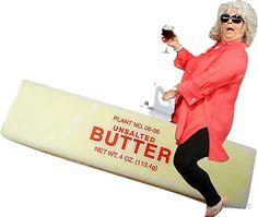 Paula deen riding butter