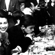 """the-night-picture-collector: """"""""Alain Delon, alone among others, 1962 """" """" Isabelle Adjani, Alain Delon, Night Pictures, Old Pictures, Classic Hollywood, Old Hollywood, Faux Profil, Alone In A Crowd, Fandom"""