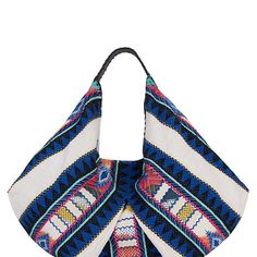 Christophe Sauvat EXCLUSIVE Moonwest Printed Cotton Hobo at INTERMIX | Shop Now | Shop IntermixOnline.com