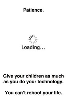 Loading Patience..... #parenting
