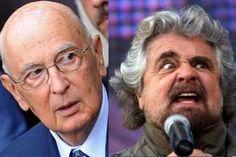 'Boom del movimento Cinque Stelle? Conosco solo quello degli anni Sessanta' dice Napolitano all'indomani delle elezioni e scatta il botta e risposta