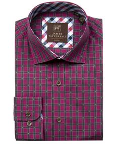 JTW6652-Berry from James Tattersall Clothing