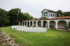Rancho Guajome Adobe - Historic outdoor rustic garden wedding in San Diego Get married in Oceanside, San Diego, California! http://www.visitoceanside.org/weddings/