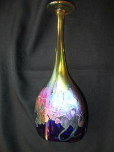 Iridescent Glass Vase - Robert Held