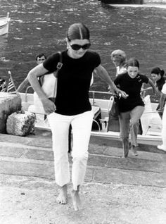 Jackie Kennedy — I must've been in my 40s before I realized how perfect her sense of style was. Every summer, the black T-shirt, white jeans, and Gucci bag. Everything was simple and classic and elegant, so her mind could focus on more important things, like art and music and poetry and literature.