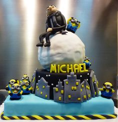 despicable me cake | Flickr - Photo Sharing!