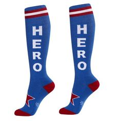 Personalized Crew Socks With French American Flag Print For Women Men