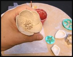 Beads of Clay Blog: MAKING A PORCELAIN FLOWER