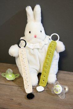 Ravelry: Pacifier clip pattern by Paula Virmasalo Baby Diaper Bags, Baby Bibs, Crochet Pacifier Clip, Pacifier Clips, Crochet Baby, Free Crochet, Clip Free, Kids Patterns, Carters Baby Girl
