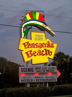 pensacola beach! I sure hope we can swing a trip there this summer. I miss it so much!