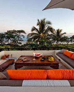 Casa Kalika (Punta de Mita, Mexico) - Take in the sunset from the rootop terrace -- ideally with a margarita. WOW....