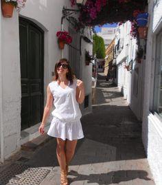 #moda y #vestidos #ibicencos en #mojacar