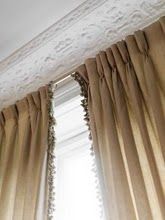 curtains with ball fringe