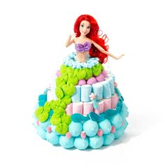 découvrez Ariel la petite sirène en bonbons par candy mail