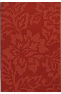 Chandra Rugs Jaipury JAI 11 Crimson Rug #RugsUSA